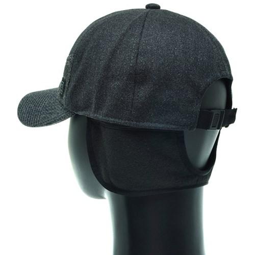 [플릭앤플록]RCO02.체크챙 귀달이 골프 캡모자 방한모자