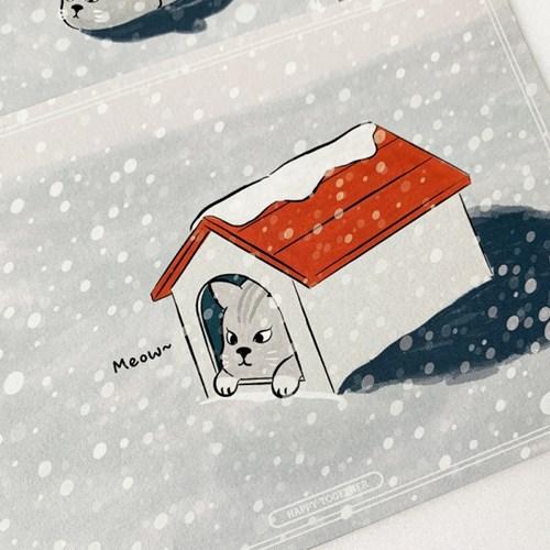 착한 코기 Postcard