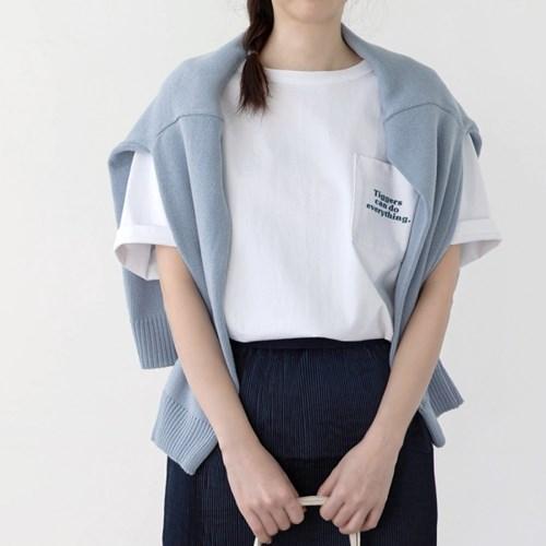 [디즈니] 레터링 티셔츠_티거