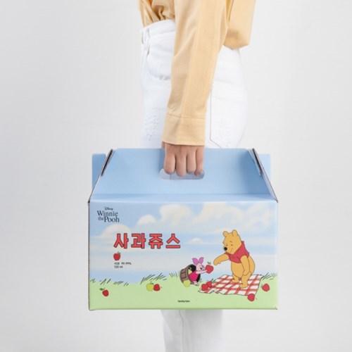 [디즈니]곰돌이 푸 사과쥬스(1box 총 30포)