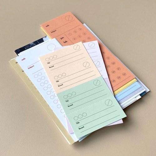 oab record ticket memo