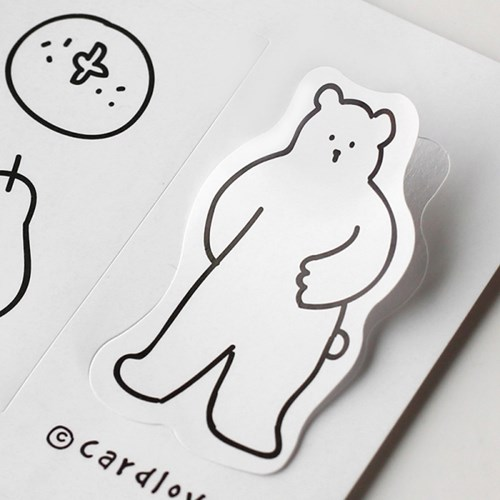 [cardlover] closed today sticker 4종