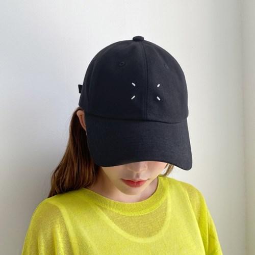 베이직 스티치 야구모자 캡 볼캡 모자