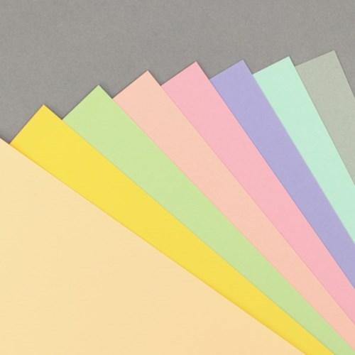 6공 A5 두꺼운 색지