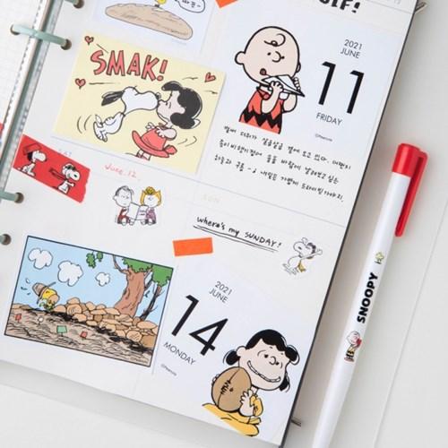 [Peanuts] 2021 미니 일력_스누피