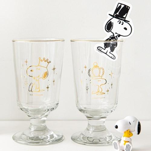 [Peanuts] 월간 스누피 세번째 이야기 유리컵 2종