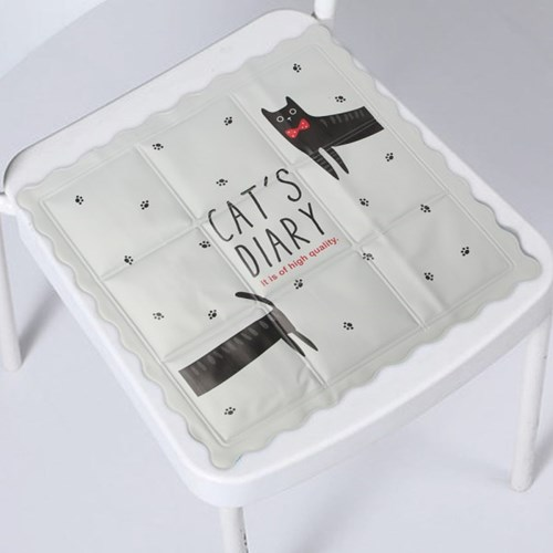 고양이 시원한 쿨방석 / 직장인 학생 아이스방석