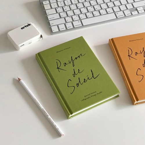(만년형) Rayon de Soleil 양장 다이어리 - 8 Color