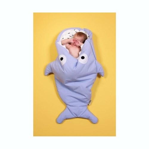 베이비바이츠 유아 아기 슬리핑백 보낭 겉싸개 LIGHT BLUE
