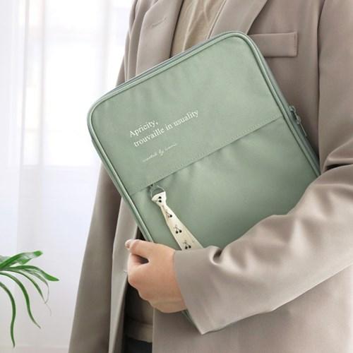 아이코닉 코트니 아이패드파우치(11 키보드 에어4 갤럭시탭s7)