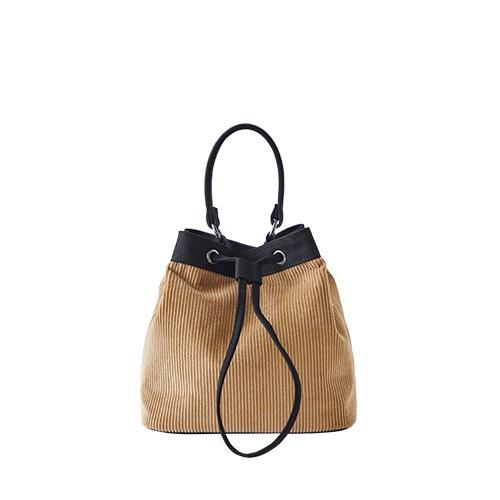 CORDUROY BUCKET BAG