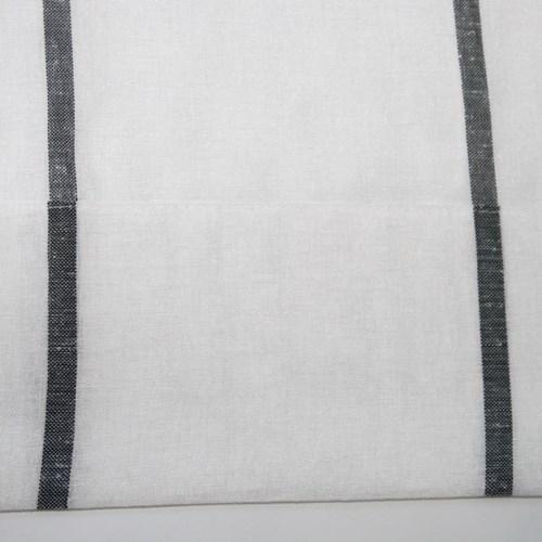 [나산] 속커튼 선염 스트라이프 린넨룩 (평주름) S1-62