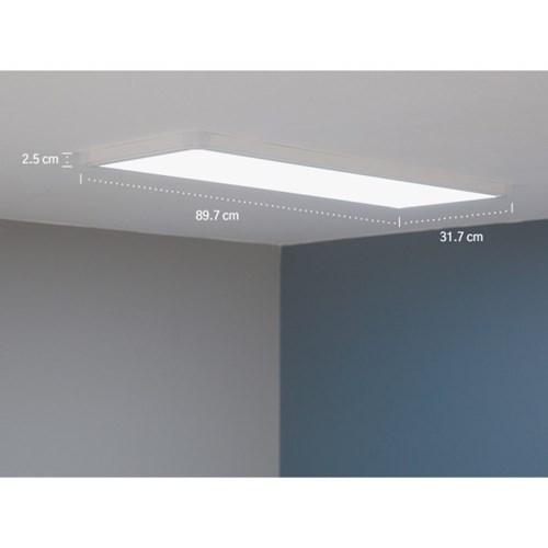 울트라 LED 엣지 평판조명 주방등 40W 900X320