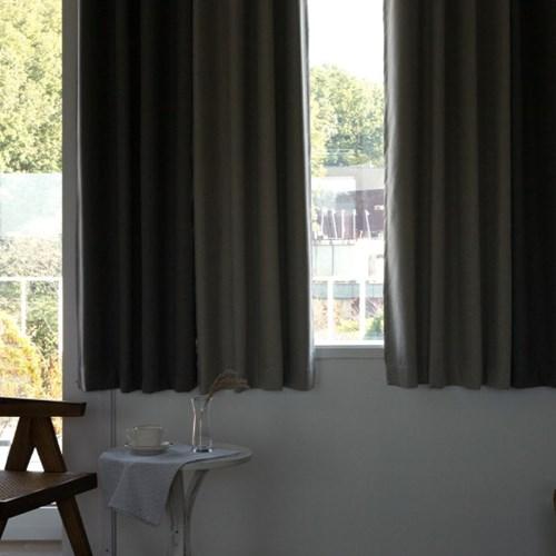 까르데코 트윈어슈어 창문 양면 100%암막커튼 4장