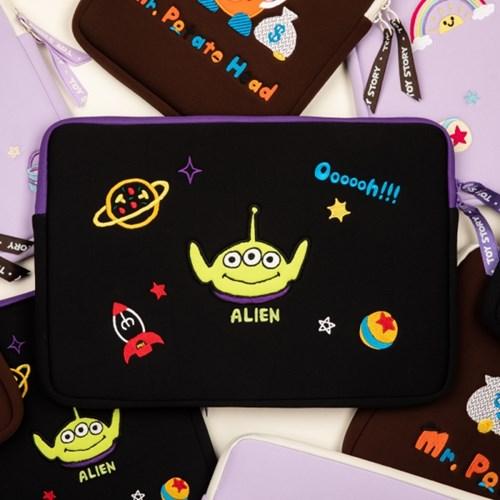 [디즈니] 토이스토리 13인치 노트북 파우치_외계인