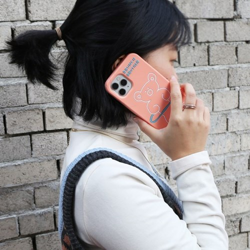Brunch Brother 홀라베어 실리콘 케이스 iPhone 12pro max