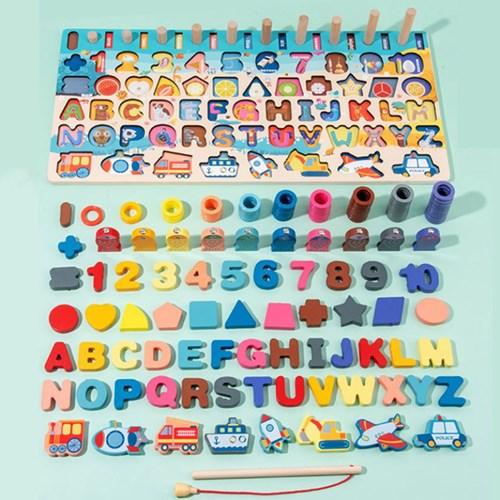 사고력발달 상상력자극 다양한구성 어린이집교구 원목 직소 퍼즐