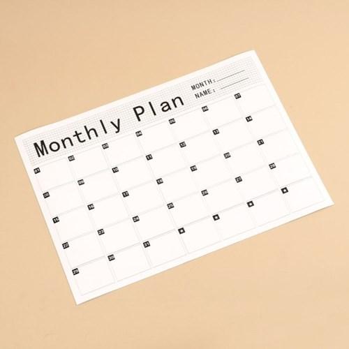 월간달력 자석 스케줄보드(체크)