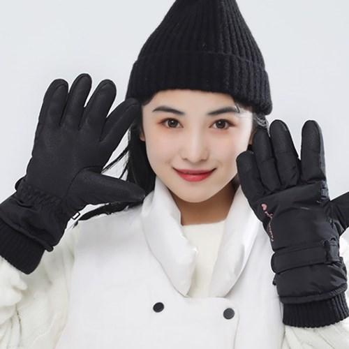 비기닝 여성 스포츠장갑(블랙) / 보드 스키장갑
