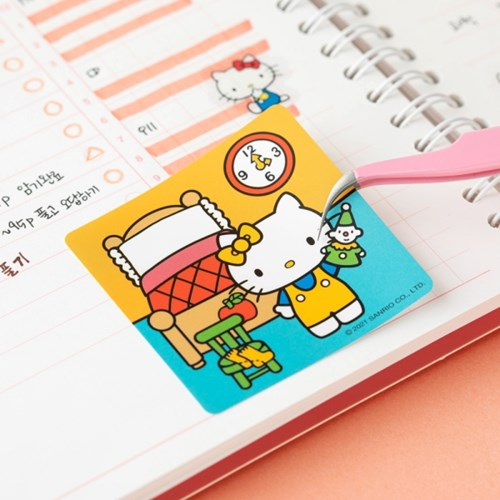 [Sanrio] 헬로키티 줄줄이 스티커