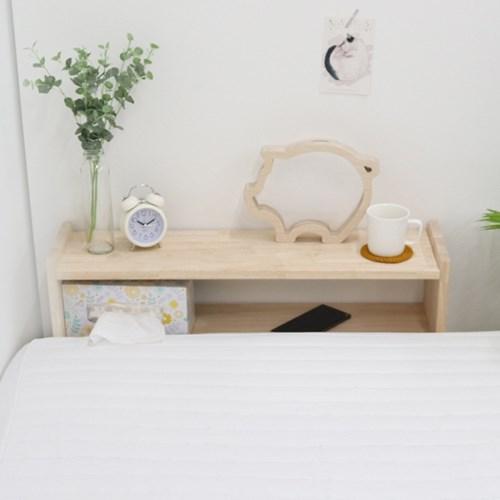 침대 베드테이블 원목 틈새 쏙 테이블 협탁