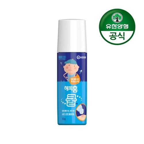 [유한양행]해피홈 바르는 물파스 쿨액 50g 2개