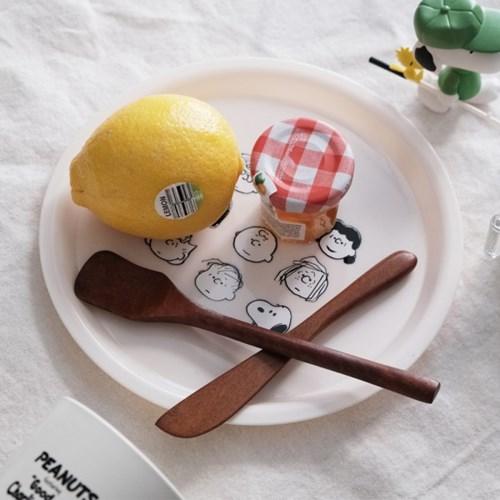 스누피 피크닉 접시 1p (색상 선택)