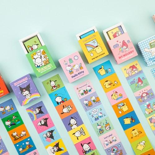 [Sanrio] 포차코 미니박스 스티커