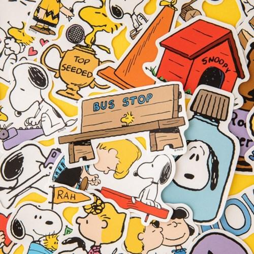 [Peanuts] 틴케이스 스티커팩
