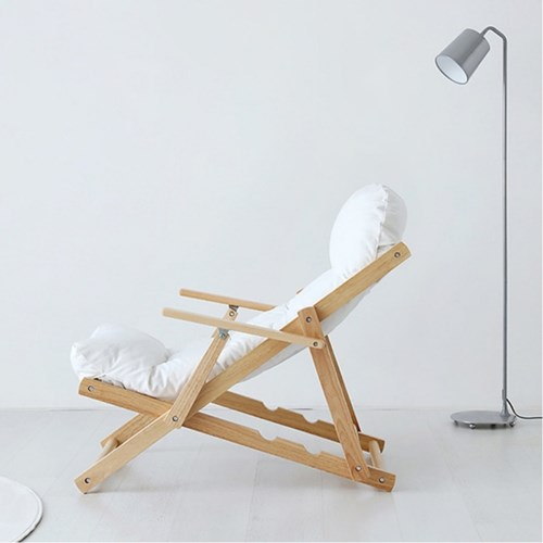 하스민퍼니처 접이식 안락의자 편안한의자 1인용 거실