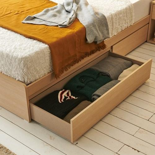 에프리 LED침대 서랍형 슈퍼싱글 침대프레임만