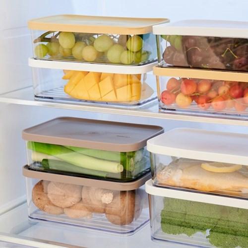 차곡차곡 밀폐용기 2+2 냉장고정리 및 보관용기