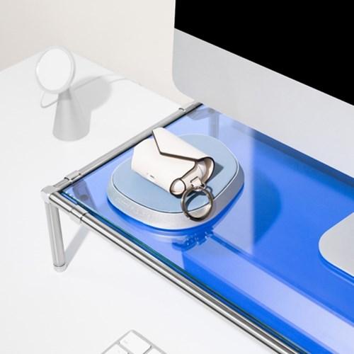 그리디파머스 모듈 모니터 받침대 높이조절 선반