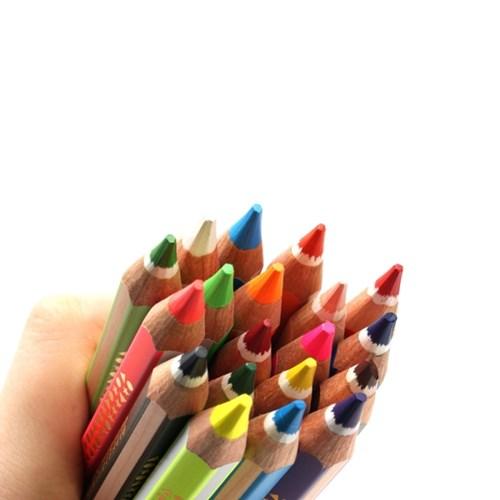 스테들러 코끼리 Super점보색연필(19컬러)