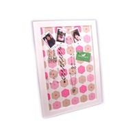 벽걸이자석메모판(핑크 플라워)