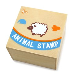 일러스트 ANIMAL STAMPS