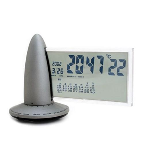 maxes 로켓 탁상 월드타임시계