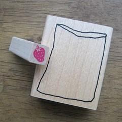 착한 어린이 딸기봉투 스탬프