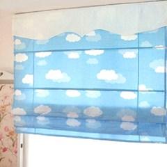 구름 로만쉐이드 (185  X 200 )