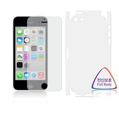 애플 아이폰5C 항균 전신 액정보호필름 (뒷면 우레탄)