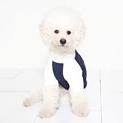 라그랑티셔츠 (navy-white) Raglan