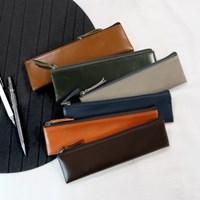 D.LAB Leather pencil case