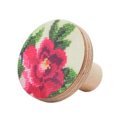 Red flower Knobs
