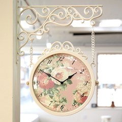 마이 로망 플로라 양면시계