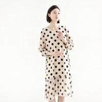 flare dot dress