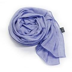 soild scarf blue