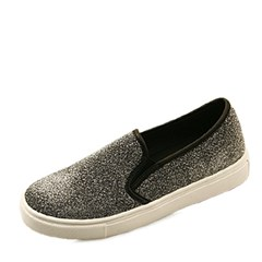 국내생산 Glittering  slip on sneakers_KM14s063