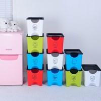 [SET] 에코홀릭분리수거함 3단30L+쓰레기봉투30매
