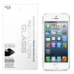 아이폰5s/5c/5 레볼루션글라스 0.14mm 피코슬림 강화유리 액정필름