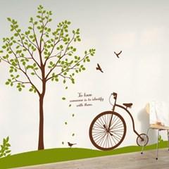 dc053-봄날의 수채화_클래식 자전거